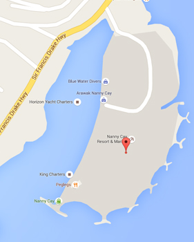 Map of British Virgin Islands Medical Tourism Information Center